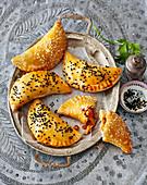 Sambusak – stuffed pastries from Palestine