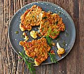 Edjjeh – Palestinian cauliflower fritters