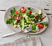 Salade Kahoo - Persischer Salat mit Rosenaroma