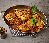 Koreshte Morgh-Zereshk – chicken in barberry sauce (Persia)