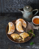 Ghottab – Persian pastries filled with almonds