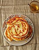 Malawah – Israeli puff pastry bread
