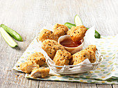 Chicken Nuggets mit Dip