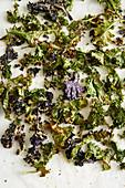 Crispy kales veggie chips
