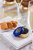 Caviar and crumpets