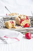 Erdbeer-Griess-Kuchen