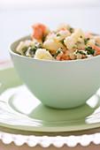 Dog Food - Kartoffelbrei mit Lachs und Spinat