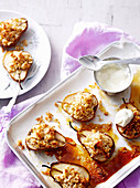 Healthy Crumbled Pears