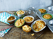 Savoury pumpkin muffins to take away