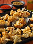 Spiced fried cauliflower