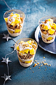Mango-coconut trifle