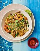 Hokkien mie noodles (Singapore-style fried noodles)