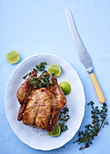 Thyme and lime chicken