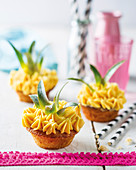 Ananas-Cupcakes