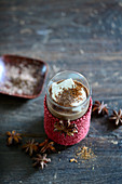 Drinking chocolate with star anise
