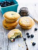 Blaubeer-Muffins (glutenfrei)