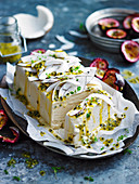 Salted Coconut and Passionfruit Semifreddo