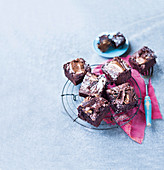 Marshmallow-Brownies zu Ostern