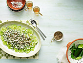 Cucumber and Fetta Salad with Za atar