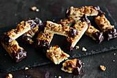 Delicate almond slices