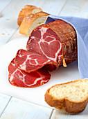 Soppressata Calabria, salami from Calabria