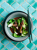Liver with pak choi (Asia)