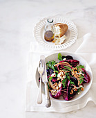 Chargrilled chicken and roasted beetroot salad