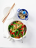 Broccolini Brown Rice and Sesame Stir-Fry