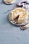 Hazlnut Torte Cake