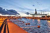 Rostock harbour, Germany