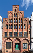 Hausbaumhaus (House of Architecture) built 1490, Rostock, Germany