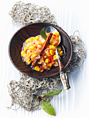 Caramelised chutney with onions and sweetcorn
