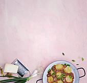 Potato tortilla with Manchego