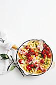 Parisienne gnocchi with tomato confit