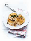Rice cakes with rosemary
