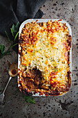 Cottage pies with opted for tender slow-cooked gravy beef