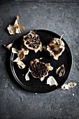 Black fried garlic
