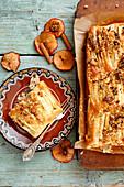 Veganer Apfel-Rührkuchen