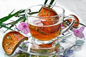 Tee mit getrockneter Bael-Frucht aus Thailand