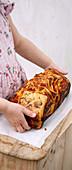 Tomato pull-apart bread