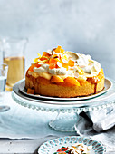 Orange Blossom Jelly Trifle Cake
