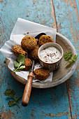Falafel (fried chickpeas balls)