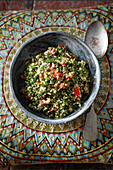 Tabboleh (oriental bulgur and parsley salad)