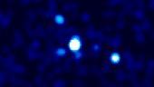 Gamma ray burst from colliding neutron stars
