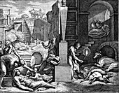 The Plague, illustration
