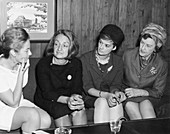 Women's rights advocates, 1968