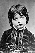 Austrian-US pathologist Karl Landsteiner as a child