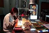 Stained glass restoration