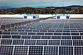 Solar energy centre near Guadarranque, San Roque, Spain