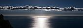 Moonlight on Mediterranean Sea, Italy